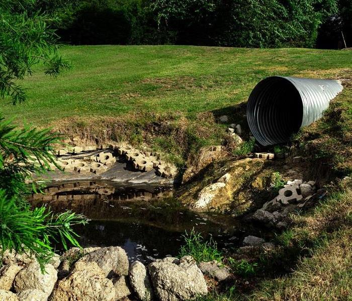 Polluted Pipe water